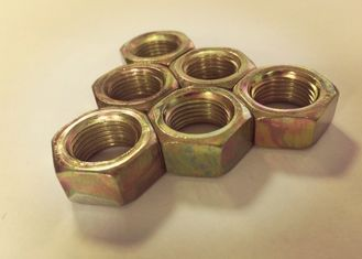 Chinese Standard Fine Thread Hex Nuts , M16x1.5 Nut For Large Heavy Engineering